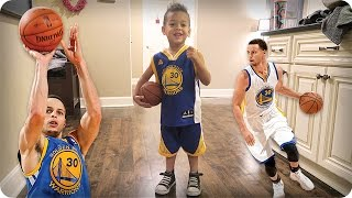 Download ADORABLE MINI STEPH CURRY!!! 😍😆🏀 Video