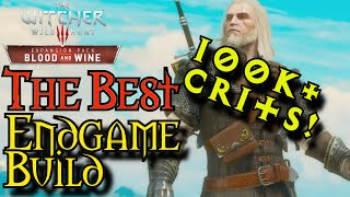 Download Witcher 3: B&W | 100K Damage With. One. Swing. | Best Endgame Build | NG+/DM/LV 80+ Video