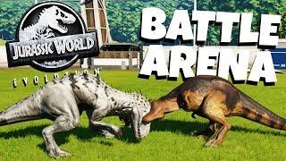 Download Dinosaur Battle Arena! - Jurassic World Evolution Gameplay Video
