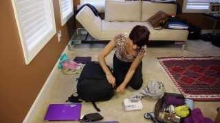 Download How to Pack Light for Travel and Never Check in Luggage Video