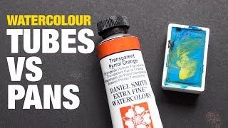 Download Watercolor Tubes vs Pans Video