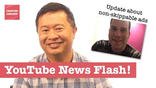 Download Non-skippable ads, a Subs bug, Memberships clarification & more! YouTube Newsflash Video