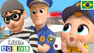 Download Policial Joãozinho ao Resgate! 👮♂️ | 🚓 Canal do Joãozinho - Little Angel Português Video