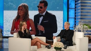 Download Jennifer Aniston on Adam Sandler's Questionable Wardrobe Video