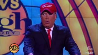 Download Comedians Compete For Best Pres. Donald Trump Impersonation | The View HD Video