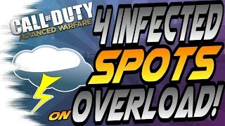 Download 4 INFECTED Glitches/Spots on Overload! - (Out of Maps, High Ledges, & Hiding Spots) CoD AW Video