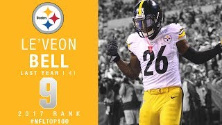 Download #9: Le'Veon Bell (RB, Steelers) | Top 100 Players of 2017 | NFL Video