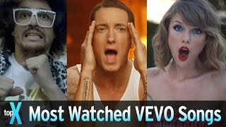 Download Top 10 Most Watched VEVO Songs - TopX Video