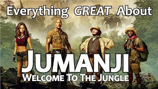 Download Everything GREAT About Jumanji: Welcome to the Jungle! Video