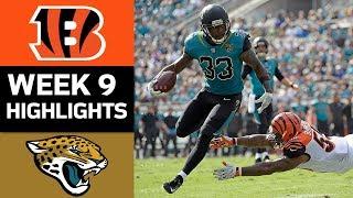 Download Bengals vs. Jaguars | NFL Week 9 Game Highlights Video