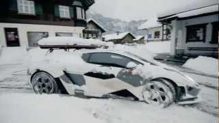 Download Lambo Snow Drifting Video