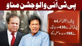 Download NA-120 Ka Pehla Result - PTI Number La Gai - Express News Video