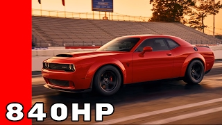 Download Dodge Challenger Demon Photo & Horsepower Leaked Video