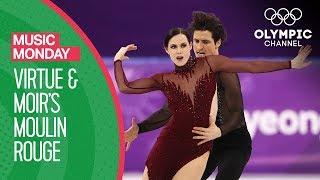 Download Tessa Virtue and Scott Moir's Moulin Rouge at PyeongChang 2018   Music Mondays Video