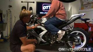 Download Sportbike Wrench- Adjusting Foot Controls Video