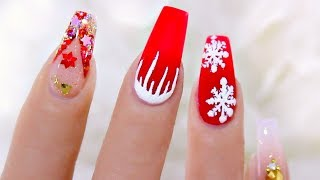 Download Most Delicate Christmas Nails For You Video