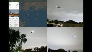 Download Crazy approaches during the night to runway 13R at New York JFK Video