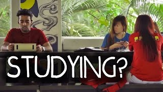 Download Students Studying PRANK in Singapore!! Video