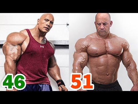 The Rock vs Vin Diesel Transformation ★ 2019
