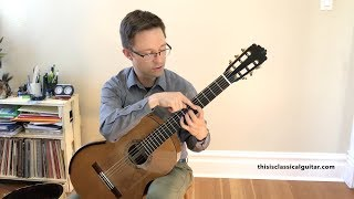 Download Lesson: Beginner Technique Exercises for Classical Guitar (Free PDF Method ) Video