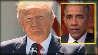 Download TRUMP JUST EXPOSED OBAMA'S BIGGEST SECRET… HE DIDN'T WANT THIS GETTING OUT Video