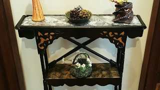 Download DIY CARDBOARD FURNITURE/ Cardboard Table Shelf / Marble/faux TUTORIAL Video