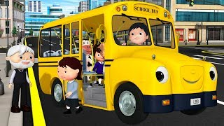 Download Wheels on The Bus Original | +More Nursery Rhymes & Kids Songs | Little Baby Bum Video