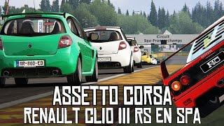 Download Assetto Corsa    Renault Clio III RS y su eterna vuelta a Spa Video