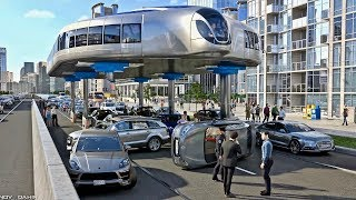 Download Buses That Can Step Over Traffic - Amazing Gyroscopic Transport Concept Video
