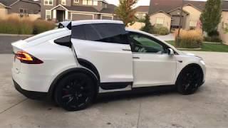 Download 2016 Tesla Model X P90D Ludicrous Mode for sale on Ebay Video