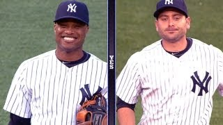 Download Robinson Cano and Francisco Cervelli get cozy at their new infield positions Video