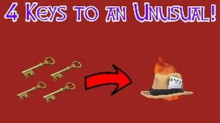 Download 4 Keys to an Unusual! TF2 Trading Series- Episode 1 Video