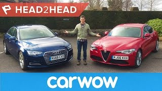 Download Alfa Giulia vs Audi A4 - can Italy beat Germany's finest? | Head2Head Video