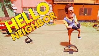 Download Hello Neighbor - Trapping the Neighbor - Secret Ending? - Let's Play Hello Neighbor Gameplay Video