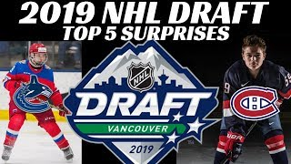 Download 2019 NHL Draft - Top 5 Surprises Video