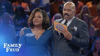 Download Team Talbert make it a VERY MERRY ″Almost Christmas″ episode! | Family Feud Video