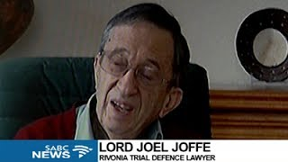 Download Tributes pour in for Mandela's former lawyer Lord Joel Joffe Video