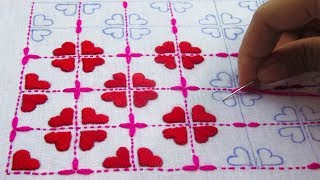 Download Hand Embroidery,Nakshi Kantha Design Tutorial,নকশী কাথা সেলাই,নকশী কাথার ডিজাইন,Crafts & Embroidery Video