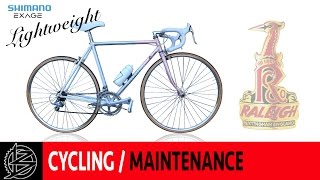 Download Raleigh lightweight Road Bike Restoration (Special Edition) Video