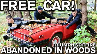 Download Detailing Free Disgusting Car Parked in Woods: 1979 Triumph Spitfire Video