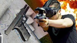 Download VR REAL GUNS - Hot dogs, Horseshoes & Hand Grenades Video