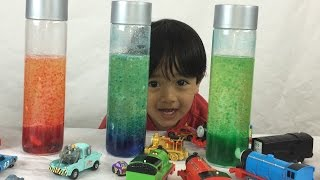 Download How to Make a Homemade Lava Lamp Easy Science Experiments for Kids with Thomas and Friends Video