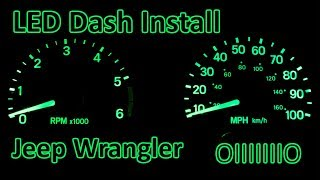 Download D.I.Y. - How to Install LED Dash Upgrade | Jeep Wrangler TJ Video