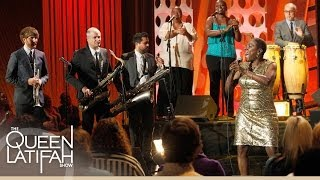Download Sharon Jones & the Dap-Kings Perform ″Long Time, Wrong Time″ on The Queen Latifah Show Video