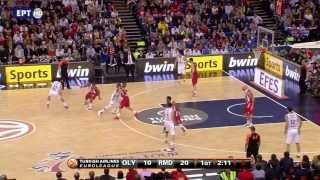 Download Olympiakos - Real Madrid 100-88 (όλα τα καλάθια) HD Video