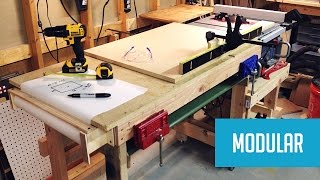 Download Modular Mobile Table Saw Station Video