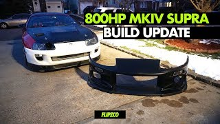 Download MKIV TOYOTA SUPRA BUILD UPDATE !!! NEW WHEELS, BUMPER, & QUICK RELEASE SPARCO WHEEL !! Video