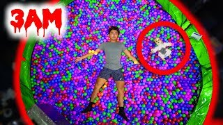 Download DO NOT JUMP ON THE TRAMPOLINE BALL PIT AT 3AM! (Ghost) Video