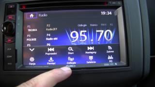Download stacja GMS 6401 zamontowana w Nissan Qashqai Video