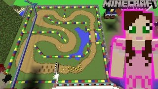 Download Minecraft: MARIO KART RACE - FUN TIME PARK [10] Video